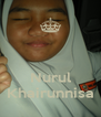 Nurul Khairunnisa - Personalised Poster A4 size
