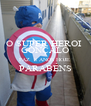 O SUPER HEROI  GONÇALO FAZ  8 ANOS HOJE  PARABÉNS  - Personalised Poster A4 size