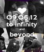 O9.O6.12 to infinity and beyond  - Personalised Poster A4 size