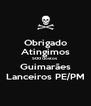 Obrigado Atingimos 500 Gostos  Guimarães Lanceiros PE/PM - Personalised Poster A4 size