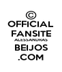 OFFICIAL FANSITE ALESSANDRAS BEIJOS .COM - Personalised Poster A4 size