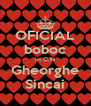 OFICIAL boboc in C.N Gheorghe Sincai - Personalised Poster A4 size