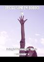 "OFICIAL SUNTEM BOBOCI IN  Colegiul Economic ""Maria Teiuleanu"" ♥ - Personalised Poster A4 size"