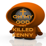 OH MY GOD THEY KILLED KENNY - Personalised Poster A4 size