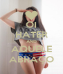 OI HATER AND AQUELE ABRAÇO - Personalised Poster A4 size