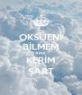 OKSİJENİ BİLMEM AMA KERİM ŞART - Personalised Poster A4 size