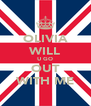 OLIVIA WILL U GO OUT WITH ME - Personalised Poster A4 size