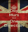 Olly Murs And One Direction - Personalised Poster A4 size