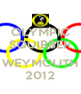 OLYMPIC SQUIBBER  WEYMOUTH 2012 - Personalised Poster A4 size