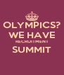 OLYMPICS? WE HAVE RECRUITMENT SUMMIT  - Personalised Poster A4 size