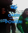 OMG! ON THE POWER!  - Personalised Poster A4 size