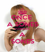 ONCE  A SONES FOREVER A SONES - Personalised Poster A4 size