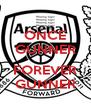 ONCE GUNNER  FOREVER GUNNER - Personalised Poster A4 size