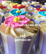 once my ig crush likes this ill  say gameover - Personalised Poster A4 size