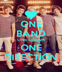 ONE BAND ONE DREAM ONE DIRECTION - Personalised Poster A4 size