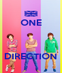 ONE    DIRECTION - Personalised Poster A4 size