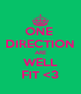 ONE  DIRECTION ARE WELL FIT <3 - Personalised Poster A4 size