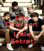 One Direction: Dirty Little Secret - Personalised Poster A4 size