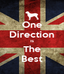One Direction Is The Best - Personalised Poster A4 size