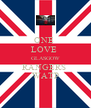 ONE  LOVE  GLASGOW RANGERS  WATP - Personalised Poster A4 size