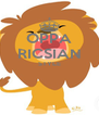 OPPA RICSIAN STYLE   - Personalised Poster A4 size