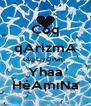 Çoq qArizmA tAqıLıyOrum  Yhaa HéAmıNa - Personalised Poster A4 size