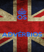 OS   ADVÉRBIOS  - Personalised Poster A4 size
