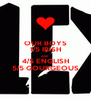 OUR BOYS 1/5 IRISH AND 4/5 ENGLISH 5/5 GOURGEOUS - Personalised Poster A4 size