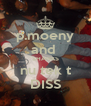 p.moeny and  SHANKS nu tek t DISS - Personalised Poster A4 size