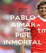 PABLO AIMAR EL PIBE INMORTAL - Personalised Poster A4 size