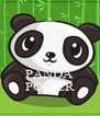 PANDA POWER - Personalised Poster A4 size