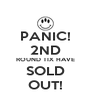 PANIC! 2ND ROUND TIX HAVE SOLD OUT! - Personalised Poster A4 size