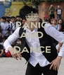 PANIC AND  DANCE  - Personalised Poster A4 size