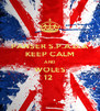 PANSER S.P.A.D.A KEEP CALM AND WOLES 12  - Personalised Poster A4 size