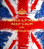 PANSER S.P.A.D.A KEEP CALM AND WOLES  - Personalised Poster A4 size