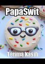 PapaSwit Terima Kasih - Personalised Poster A4 size