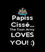 Papiss Cissé... The Toon Army LOVES YOU! :) - Personalised Poster A4 size