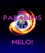 PARABENS    MELO! - Personalised Poster A4 size