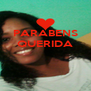 PARABENS QUERIDA    - Personalised Poster A4 size