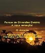 Parque de Diversões Delphic A nova sensação! O Arcanjo Reformado e Renovado! Mergulho vertical de 30 metros - Personalised Poster A4 size