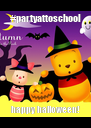 #partyattoschool happy halloween! - Personalised Poster A4 size