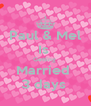 Paul & Mel Is  Getting  Married  3 days  - Personalised Poster A4 size