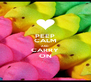 PEEP CALM AND CARRY ON - Personalised Poster A4 size