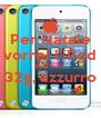 Per Natale vorrei l'iPod touch da  32g, azzurro  - Personalised Poster A4 size