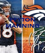 PEYTON MANNING    - Personalised Poster A4 size