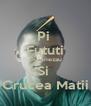 Pi  Fututi Dumnezau Si  Crucea Matii - Personalised Poster A4 size