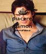 piacere, damon germofobico   - Personalised Poster A4 size
