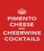 PIMENTO CHEESE AND CHEERWINE COCKTAILS - Personalised Poster A4 size