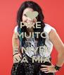PIRE  MUITO HOJE É NIVER DA MIA - Personalised Poster A4 size