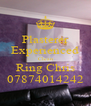 Plasterer Experienced Clean Ring Chris 07874014242 - Personalised Poster A4 size